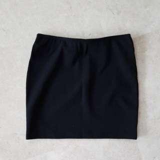 BN Nichii Black Mini Skirt in Black