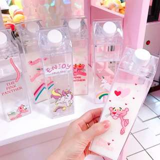Adorable water bottles(500ml)/contain liquid items