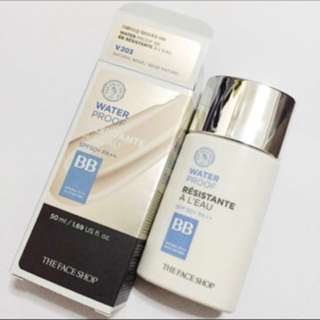 The Face Shop Waterproof BB Cream in V203 Natural Beige