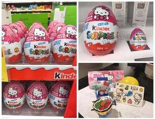 🇨🇦加拿大直送Kinder Hello Kitty Surprise Egg
