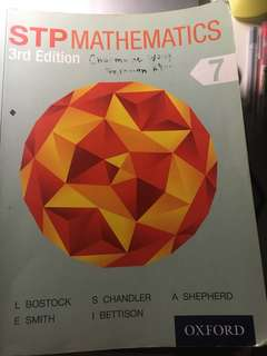 Oxford STP Math 3rd edition