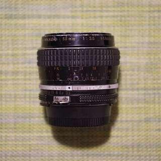 Nikon 55mm Micro Lens Camera