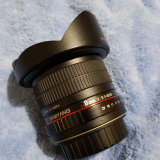 Samyang 8mm Canon Mount