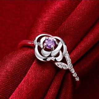 (PREORDER) Rose Silver Ring