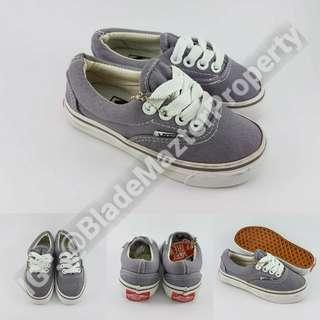 Sepatu Kets Anak Vans Era Classics Kids Light Grey Abu