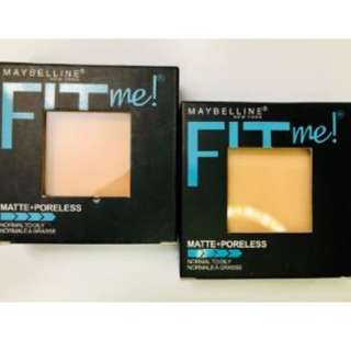 Maybelline Fit Me Matte Powder
