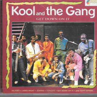 MY PRELOVED CD -KKOL AND THE GANG - GET DOW ON IT  /FREE DELIVERY (F7K))
