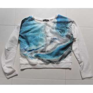 M Cropped Sweater