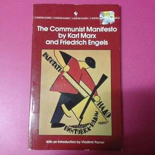 The communist manifesto Karl marx friedrich engels book