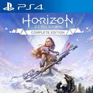 Ps4 Game : Horizon Zero Dawn - Complete Edition ( R3 ) Want Buy >_