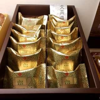 ✈大玩台灣代購✈百年老店福滿堂大禹嶺高山茶鳳梨酥12入