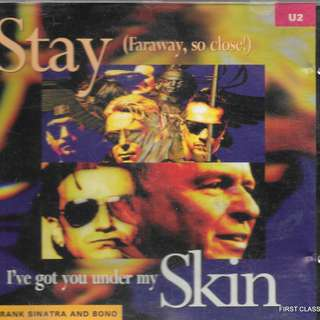 MY PRELOVED CD - U2 -STAY FARAWAY, SO CLOSE -/FREE DELIVERY (F7K))