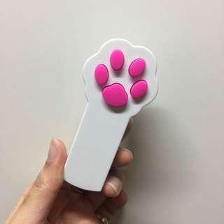 🚚 激光逗貓棒 肉蹼 貓掌 雷射筆 寵物玩具