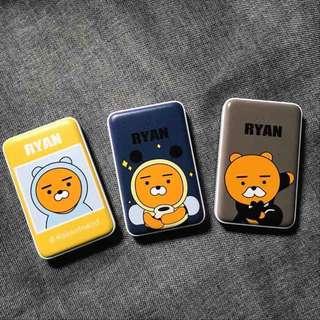 kakaofriends莱恩獅子RYAN充電器12000mAh