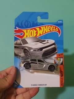Hot Wheels '15 Dodge Charger SRT error card