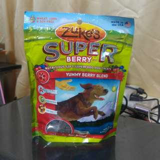 Zuke's Super Berry Soft Dog Treats (170g)