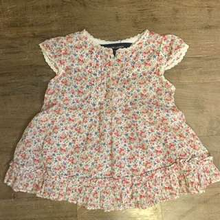 Ralph Lauren floral top - rarely used