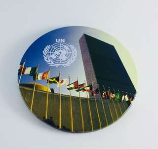 UN Headquarters New York Ref/Fridge Magnet