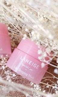 Laneige travel size lip sleeping mask