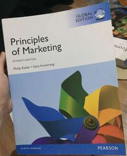 Principles of marketing (Pearson)