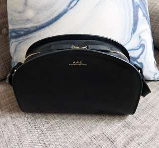 A.P.C half moon crossbody