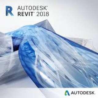 AutoCAD Revit 2018