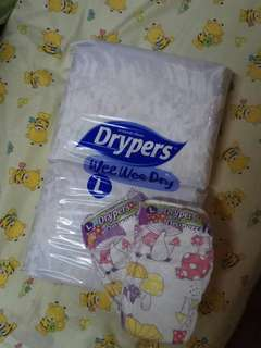 Drypers wee wee dry L44