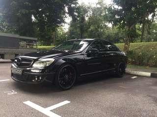 Mercedes-Benz C200 Saloon Auto CGI