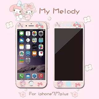 My melody iPhone mon貼 玻璃貼