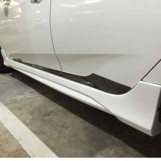 Honda Civic 2016/2017 side skirt