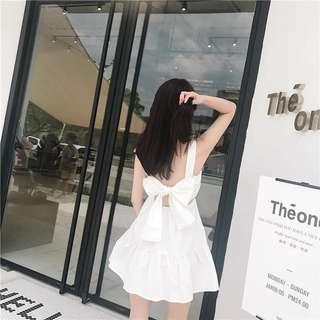 [PO] Bow Tie Back Dress