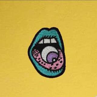 Eyeball Iron On Patch