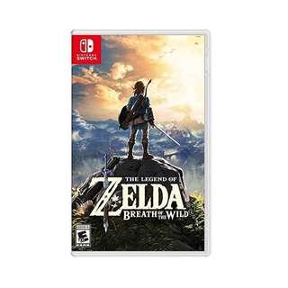 Switch Game Zelda 薩爾達傳說 eShop數位版