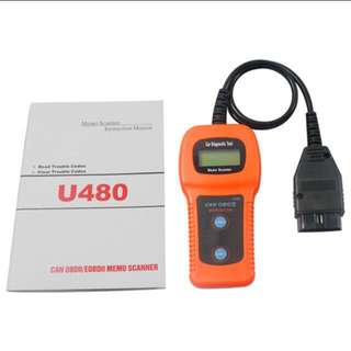 MemoScan U480 CAN OBD2 Diagnostic Scan Tool