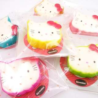 PO: 40 pieces tagged mini hello kitty squishies