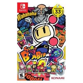Switch Game SUPER BOMBERMAN 超級炸彈人R eShop數位版