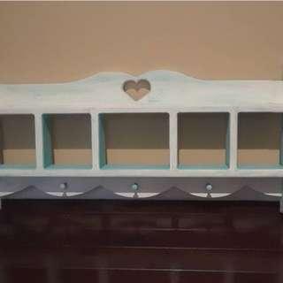 Handpainted coat rack
