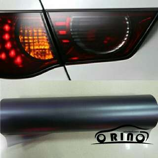 Tinted Lampu headlamp atau rear lamp