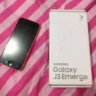 HELPING A FRIEND! 💙 BUNDLE (Iphone 5c & Samsung Galaxy J3 Emerge)