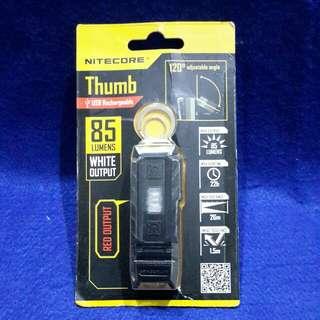 Nitecore thumb 85 lumens key chain light
