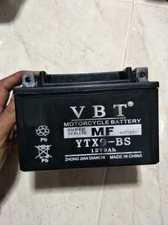 For motorcycle battery