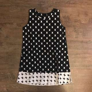 Black and White Dots dress