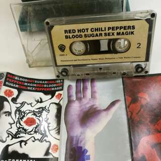 Red Hot Chilli Peppers cassette tape