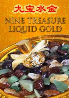 9 Treasure Liquid Gold ( Wealth Metta Luck)
