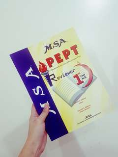 MSA: PEPT Reviewer for 1st Year High School and 2nd Year High School (Bundle or Separate)