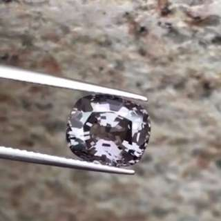 3.4ct clear Burma Mogok spinel for ring/ pendent