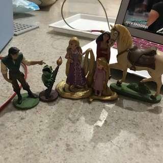 Rapunzel Set Disney