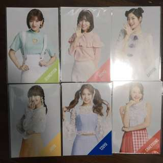twice candy pop postcard
