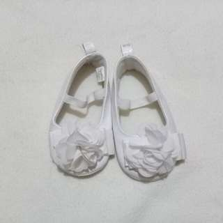 White shoes for infant