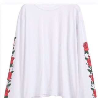 FLORAL PRINT LONG SLEEVE